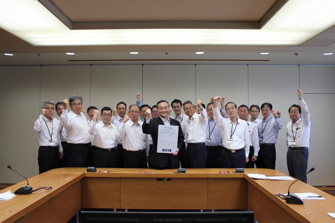 【イクボス宣言】徳島県知事をはじめ県幹部職員が「とくしま・イクボス宣言」