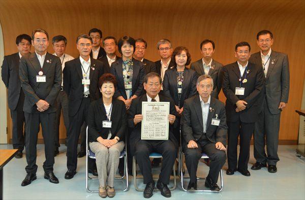【イクボス宣言】栃木県小山市にて市長がほか部長級・所属長級職員らがイクボス宣言