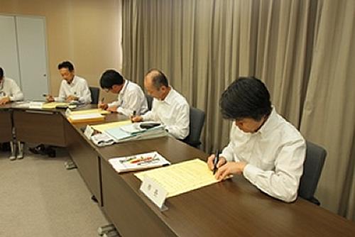 【イクボス宣言】愛知県・豊田市長ほか特別職・部長級職員がイクボス宣言