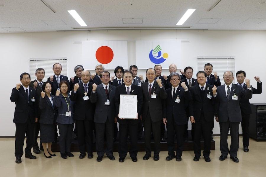 【イクボス宣言】栃木市にて鈴木市長はじめ副市長、教育長、部長級職員ら22名がイクボス宣言